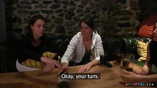 Erotic late night lesbian sex betwixt cuties Lexi Dona and Charlotta