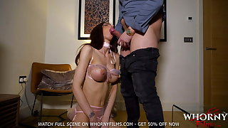BDSM Cute Busty Teen Spanked and Fucked Hard WHORNYFILMS.COM