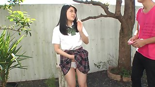 It's no shame to apologize hot oriental chick cum fro a catch vibrator