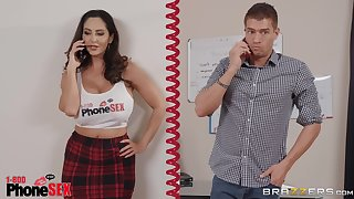 Mail ordered cock for horny MILF Ava Addams to feast upon