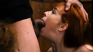 Mistress uses slave Low-spirited youthfull girls, Alexa Nova and